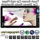 """7"""" Double 2Din In Dash Car Stereo MP3 MP5 Player Touchscreen"""
