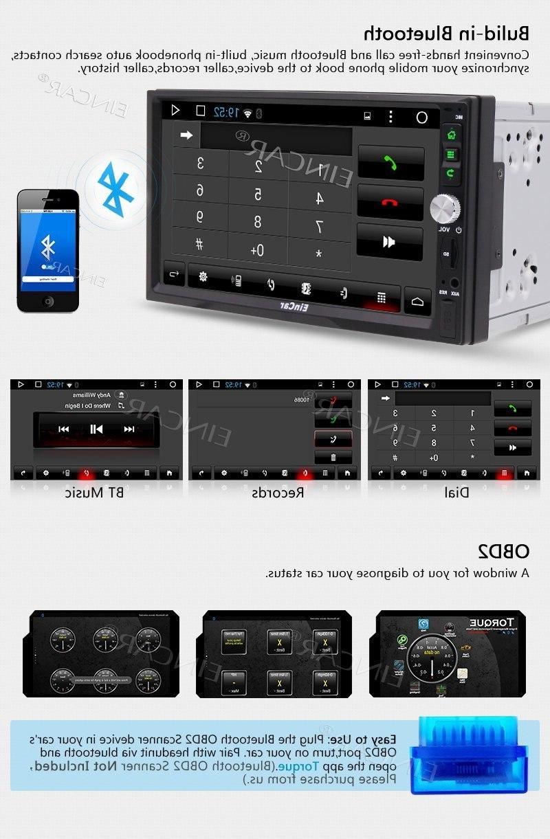 7'' <font><b>Car</b></font> Radio Head Unit Support Navigation Bluetooth WIFI 4G OBD2 RDS