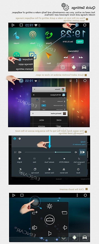 7'' <font><b>Eincar</b></font> Radio Head Navigation Bluetooth WIFI 4G Autoradio FM/AM RDS