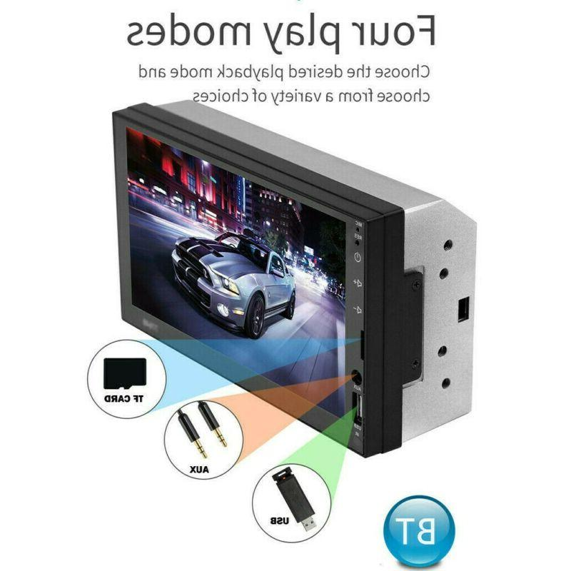 """7"""" Radio Touch 2Din&CameraE"""