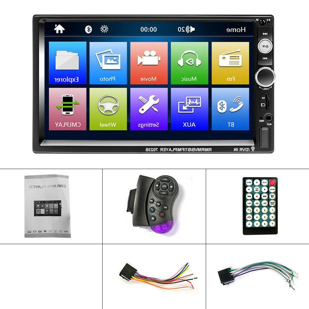 "7"" Car Stereo Radio Mp5 Touch Mirror SD"