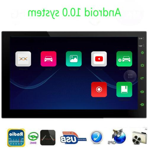 7inch Android 10 Car Stereo GPS Navigation Radio MP5 Player