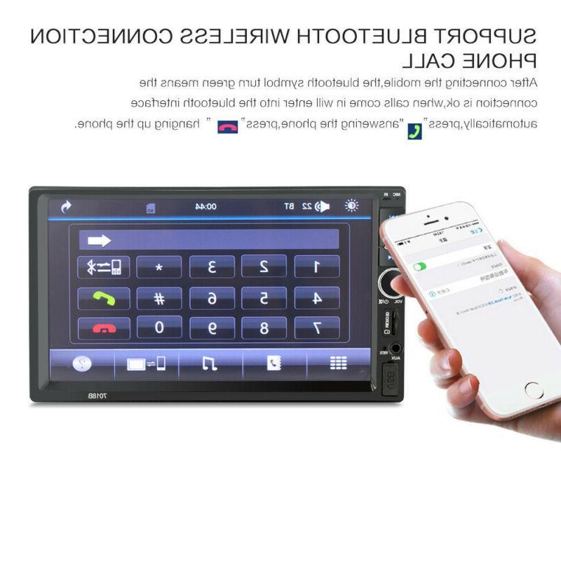"7"" Car MP5 Player Tou+ch HD+Free Camera"