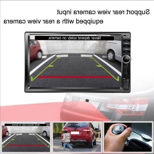 Car Audio Receiver Double Din Screen USB