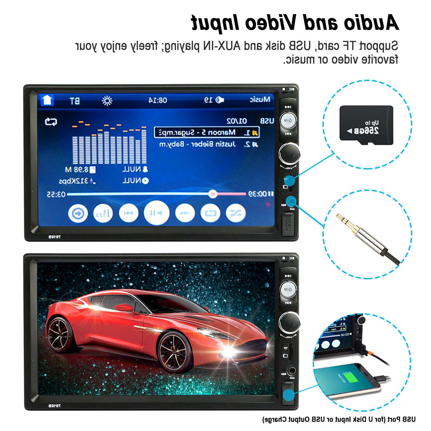 """7"""" MP5 Touch Screen"""