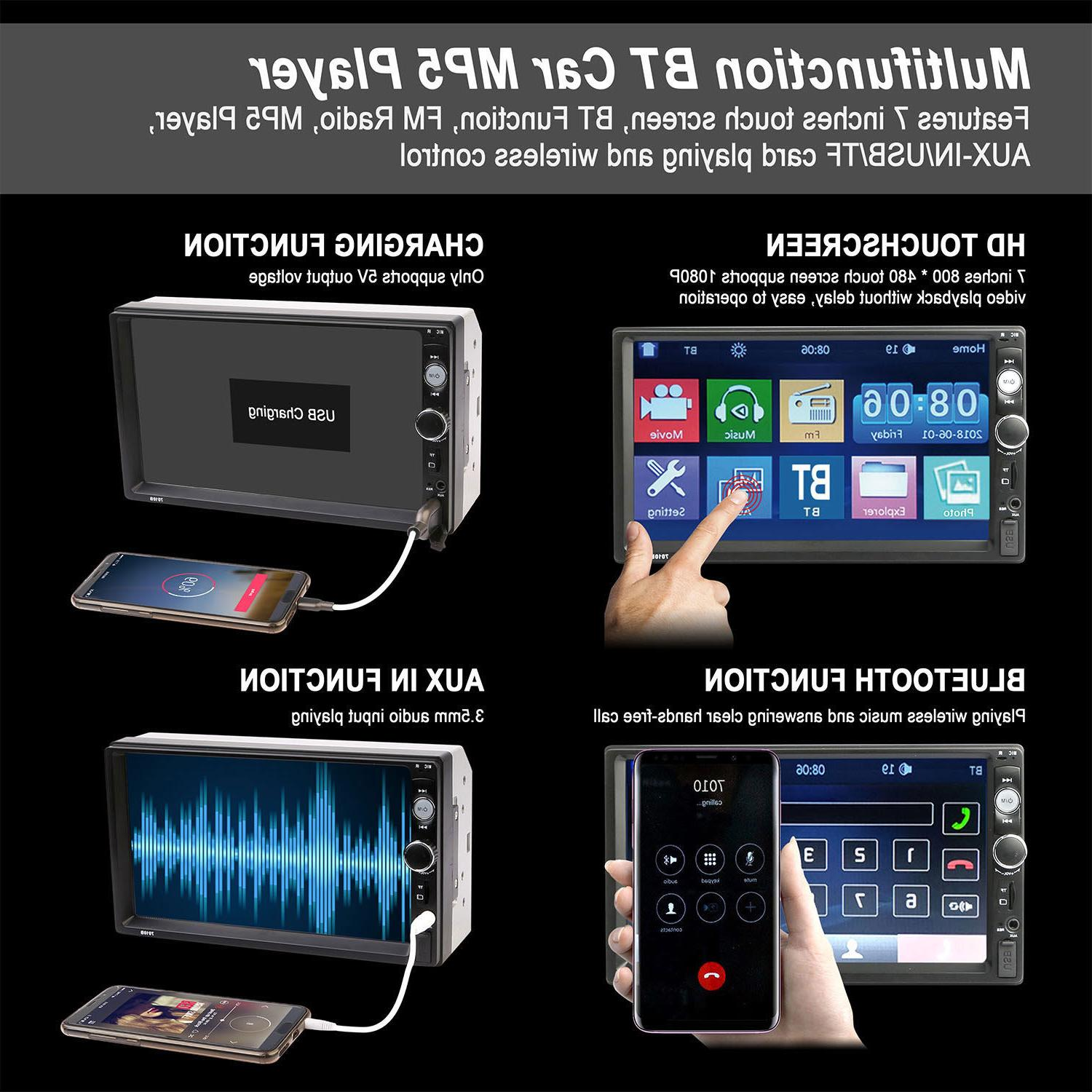 """7"""" MP5 Player Touch Screen"""
