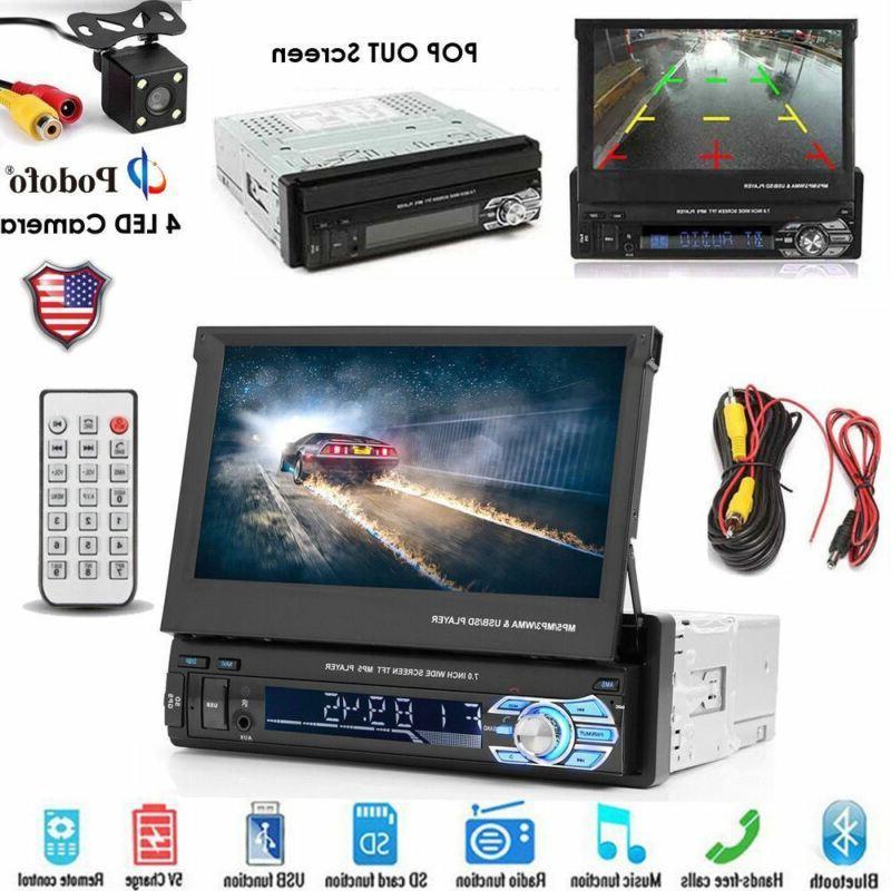 "7""Touchscreen Mirror Link FM MP5 Bluetooth Car Stereo Radio"