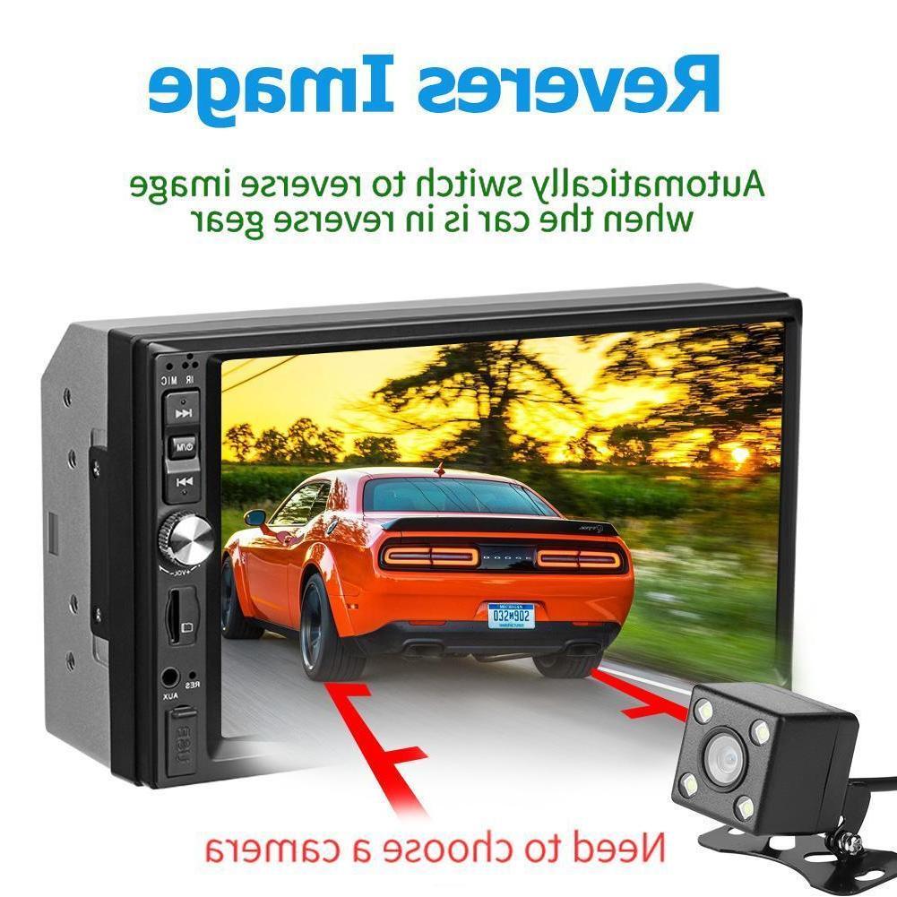 7Inch 2Din HD Player FM USB