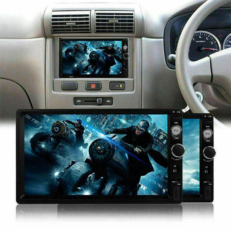 7inch HD 2Din Screen Car USB Camera