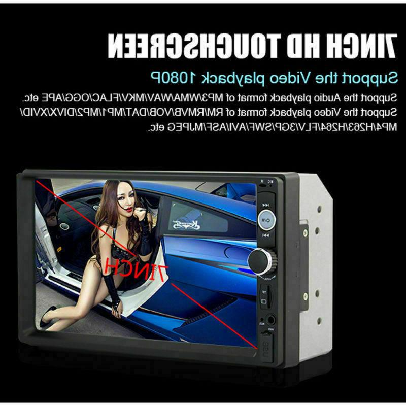 7inch HD Screen Car MP5 Player Android USB