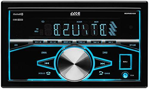 BOSS Stereo - Din, Bluetooth, AM/FM Multi Illumination