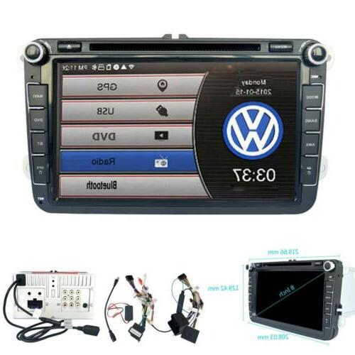 GPS Navigation Radio BT Handsfree For VW
