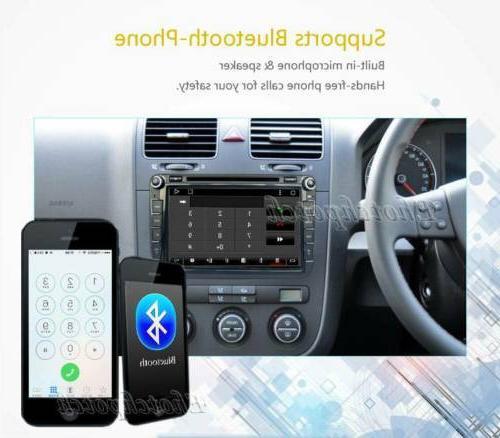 8inch DVD GPS BT Handsfree VW