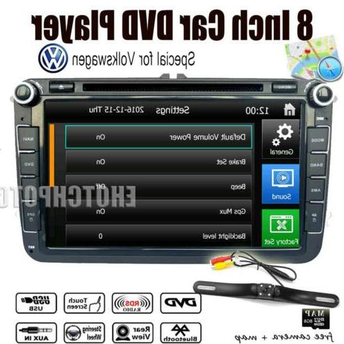 8inch car dvd player gps navigation radio