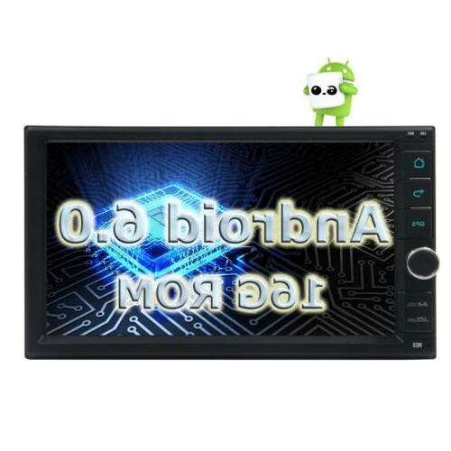 "Android DIN 7"" Touchscreen Player Radio Eincar Nav"