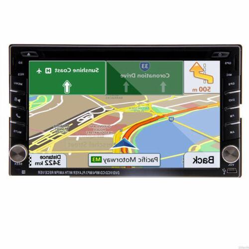Backup Camera+GPS Car Stereo mp3 Map