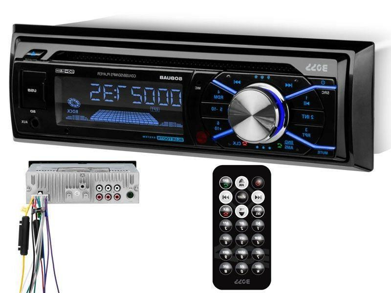 Boss 508UAB In-Dash CD/MP3 Car Stereo Receiver +Bluetooth +U