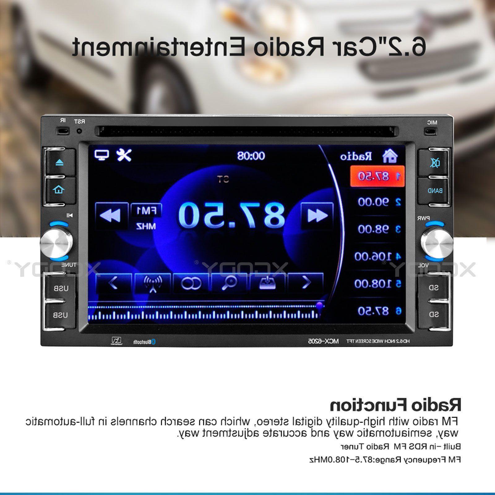 Stereo Radio CD MP5 Player 2 DIN USB