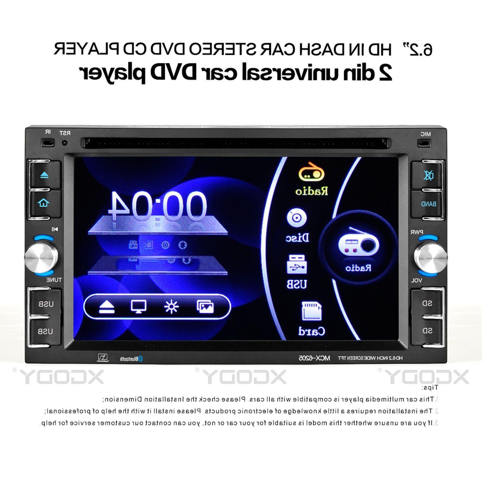 "6.2"" Screen Stereo MP5 USB Bluetooth 6205"