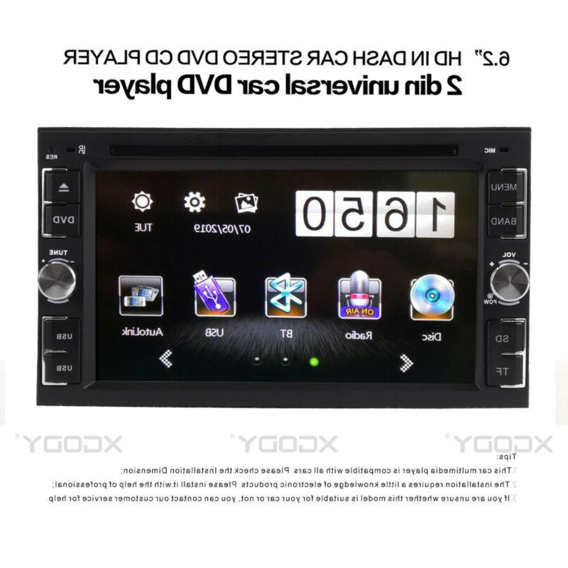 Car Stereo CD MP5 Player Touch Screen +