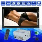 """Double 2Din 7"""" Car Stereo DVD CD Player HD In Dash Bluetooth"""