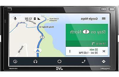 JVC 2-DIN Car Digital Media Receiver Bluetooth - KW-M740BT