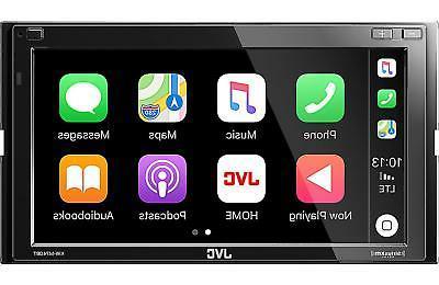 JVC 2-DIN Digital Media Bluetooth USB KW-M740BT