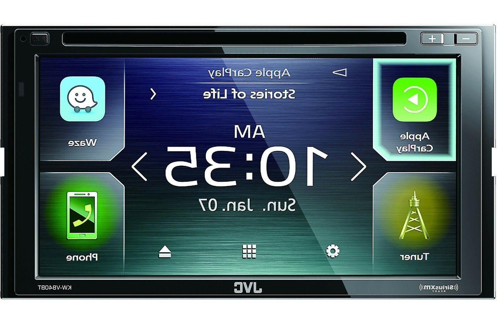 JVC 2-DIN Car Stereo Digital Media Receiver with Bluetooth U