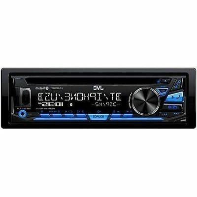 JVC KD-RD88BT Single DIN Bluetooth In-Dash Car Stereo With P