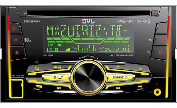 JVC KW-R925BTS Double Din In-Dash CD/MP3/USB/Bluetooth/Pando