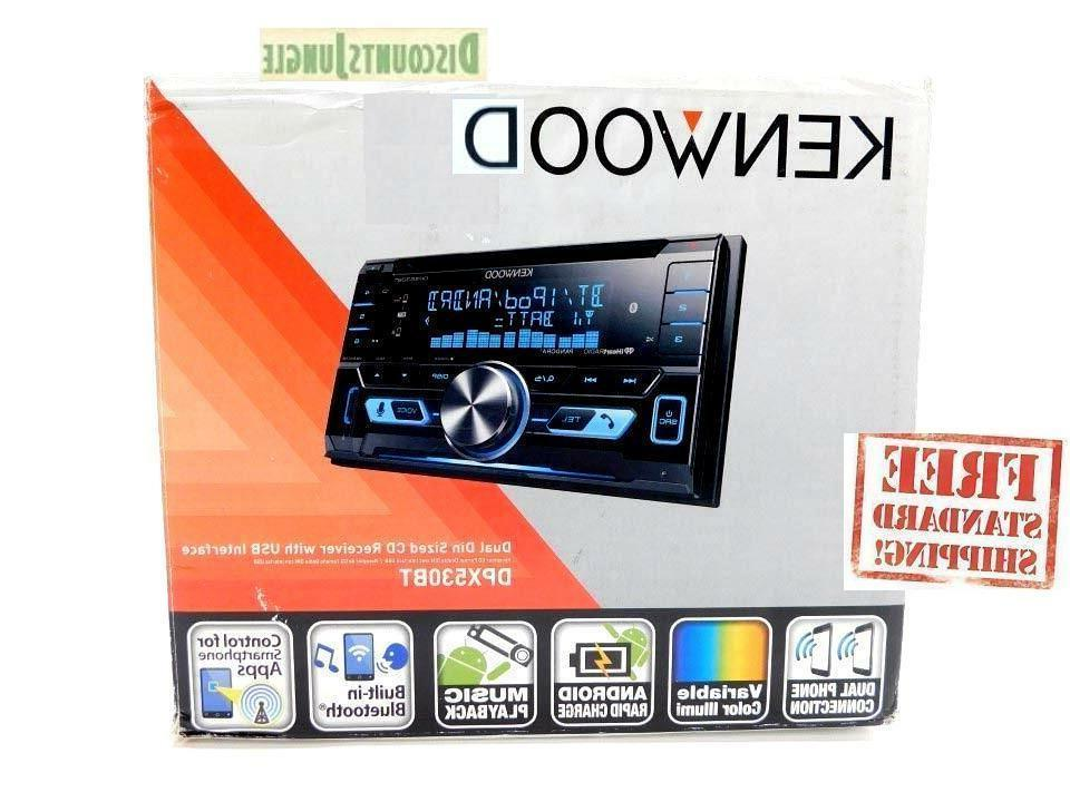 KENWOOD DPX530BT CAR DOUBLE DIN CD PLAYER USB W/ BLUETOOTH F