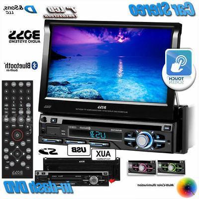 "NEW BOSS 7"" Touchscreen In-Dash DVD/USB Car Stereo Radio w/B"