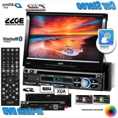 "NEW Audio 7"" Touchscreen In-Dash DVD/CD/USB Stereo"