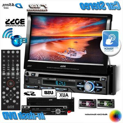 "NEW BOSS Audio 7"" Touchscreen In-Dash DVD/CD/USB Car Stereo"