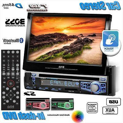 "NEW BOSS Audio 7"" Touchscreen In-Dash DVD/CD/USB Car Stereo"