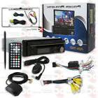 POWER ACOUSTIK MOTORIZED CD GPS BLUETOOTH STEREO FREE CHROME
