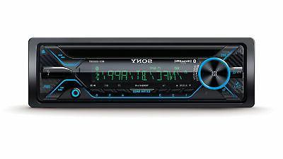 Sony MEX-GS820BT, Single DIN AM/ FM/ CD/ MP3 Player Car Ster