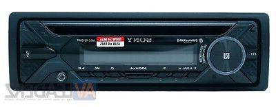 Sony Single Din AM/FM/CD/MP3 Player Car Stereo, Built-In Amplifier