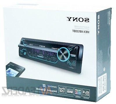 Sony MEX-XB120BT, Din AM/FM/CD/MP3 Car Stereo, Built-In