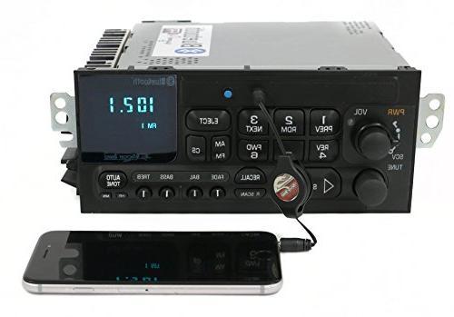 1 Radio 638-01007-A-BT AM Black Input Bluetooth OE Part AM FM Radio