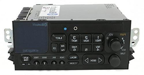 1 Factory 638-01007-A-BT AM Remanufactured Black OE AM Radio