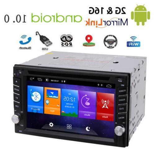 Eincar Android 10.0 Car DVD Player FM Radio GPS BT Quad Core