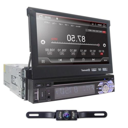 Android 6.0 1DIN 4Core Unit inch Car DVD Stereo Radio