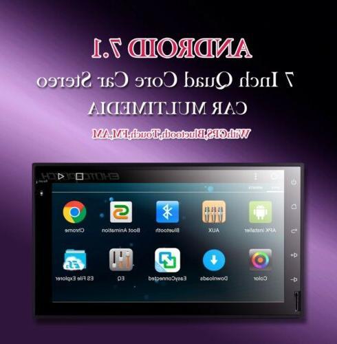 Android 7.1 Car DVD Radio 6.2'' HD WiFi 4G Unit