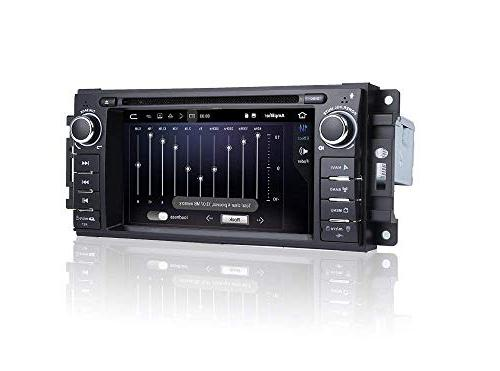 MCWAUTO Android 8.1 Stereo Compatible Dodge Unit 2G Radio with Navigation Bluetooth/3G/Rear