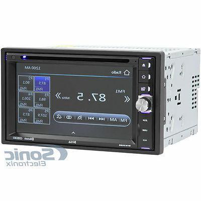 Boss BV9358B Car DVD Player - LCD - Plays DVD±R/RW, MP3/DVD/CD/USB/SD