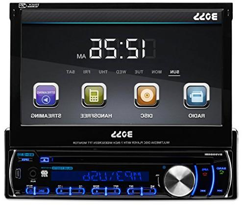 "BOSS AUDIO 7"" SINGLE-DIN TFT RECEIVER"