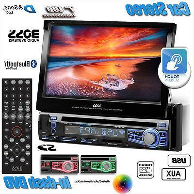 Touchscreen DVD/CD/USB Car Stereo Radio