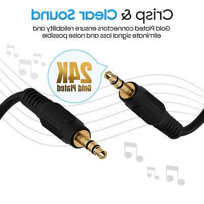 AUX Headphone Male Car Stereo Cord Samsung lot
