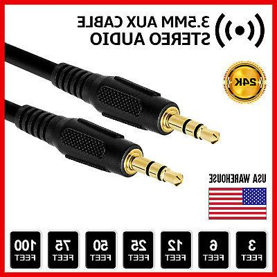 aux headphone 3 5mm cable male to